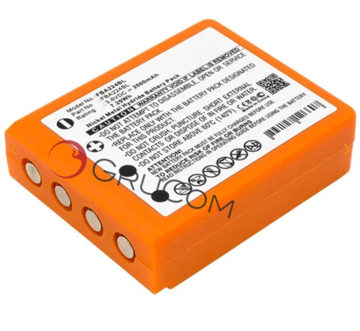 Batería compatible HBC  BA223000, BA223030, FUB6