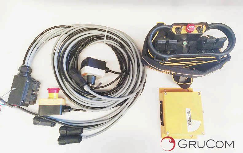 Kit completo radiomando  Hetronic  RMH-01