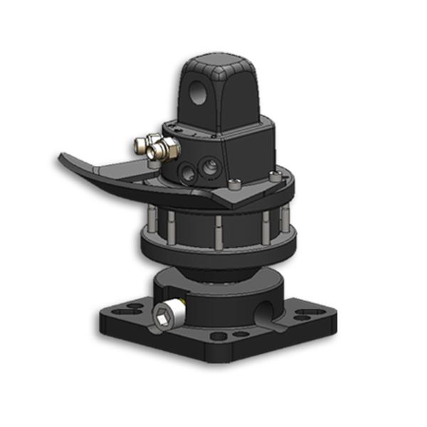 Rotator hidráulico 4 bridas  RB-R3CFS
