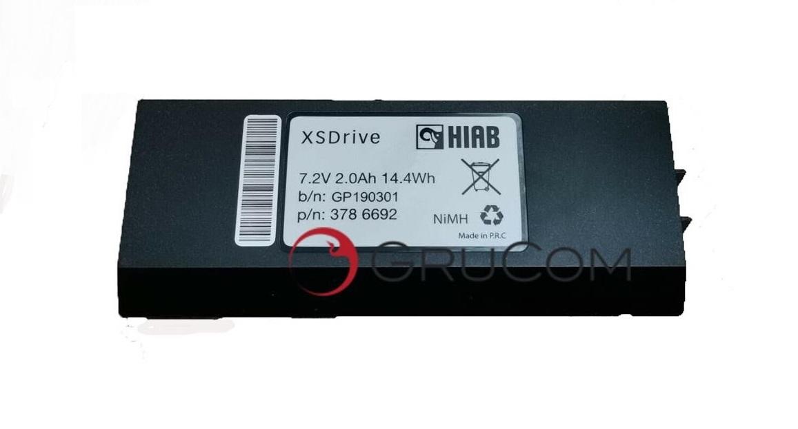 Batería original  Hiab  3786692,XS DRIVE