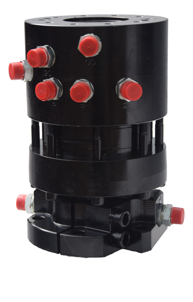 Rotator 6 bridas para cabezal procesador  R7CFF-6